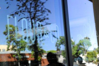 Flour2 Window Signage