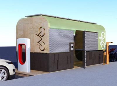 Bike Hub Concept II image Featured Image
