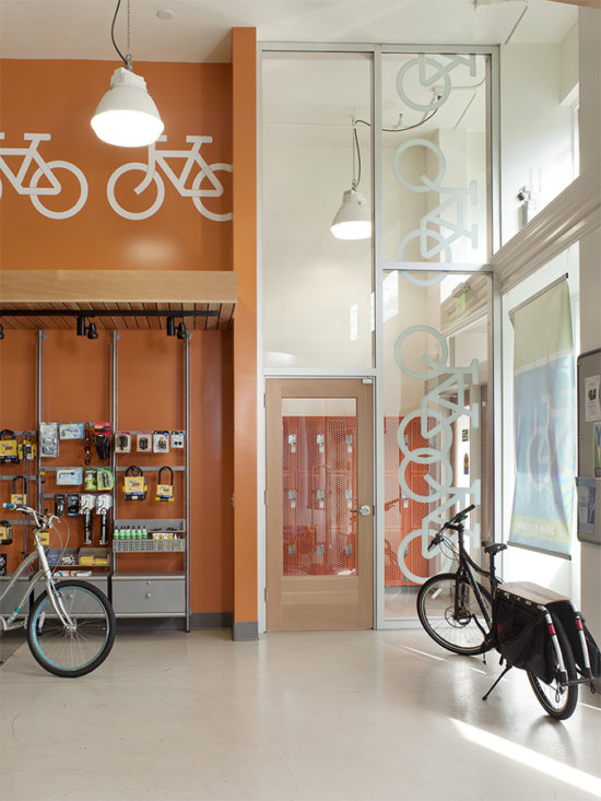 Berkeley Bike Station, commercial architecture, east bay architects